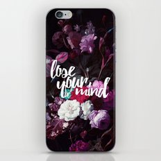 Lose your mind iPhone Skin