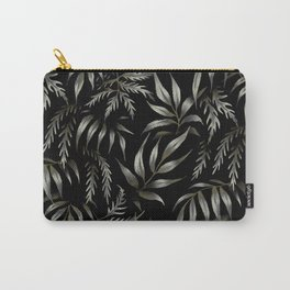 Brooklyn Forest - Black Carry-All Pouch