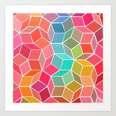 dimensions 1 Art Print