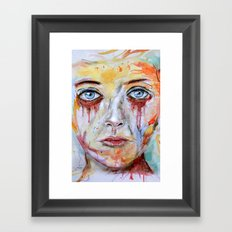 Deep Soul 11 - Hochkant Version Framed Art Print