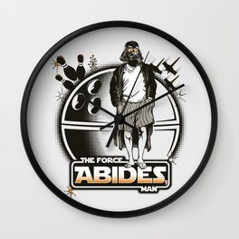 The Force Abides Wall Clock