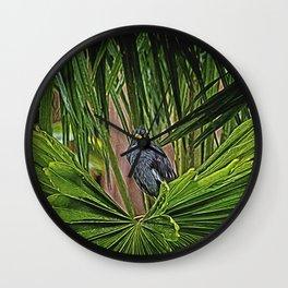 Guard Bird Wall Clock