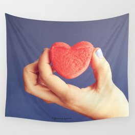 Hold it Series heart Wall Tapestry