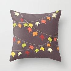 Autumn Carnival Throw Pillow