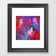 Lost in the Galaxy zx210 Framed Art Print