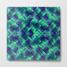 d47: wave deconstruct Metal Print