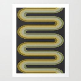 Retro Tubes Art Print