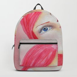 Bella SASS Girl - Rose - SASS = Strong and Super Smart Backpack