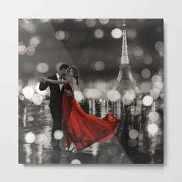 Dianne Loumer - Midnight in Paris Metal Print