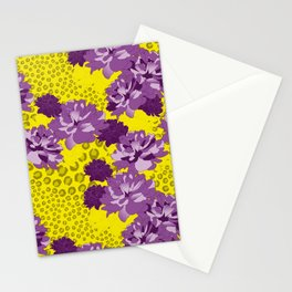 Floral Leopard Stationery Cards