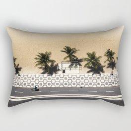 Ipanema From Above Rectangular Pillow
