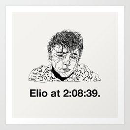 Elio Art Print
