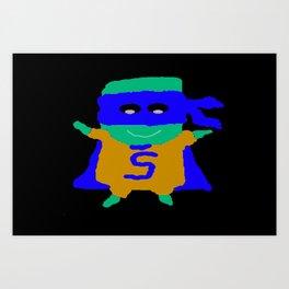Super Spam 3 Art Print
