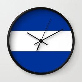 Juliet Flag Wall Clock
