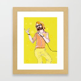 Jarvis Brings Home the Gold  Framed Art Print
