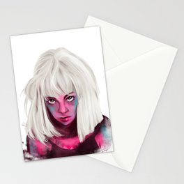 Elastic Heart  Stationery Cards