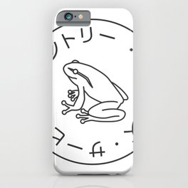 Frog Society iPhone Case