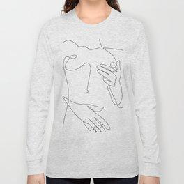 Sensual Erotic Long Sleeve T-shirt