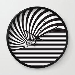 Optical Game 8 Wall Clock