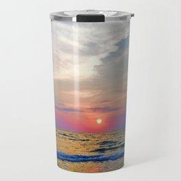 Naples Florida sunset on the Gulf of Mexico Travel Mug