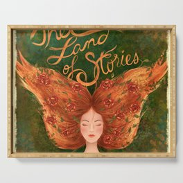 The Land of Stories Serving Tray
