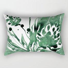 Organic Impressions No. 103 by Kathy Morton Stanion Rectangular Pillow