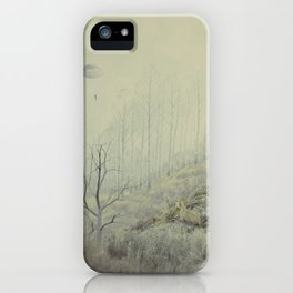 Into The Wolves' Den iPhone Case