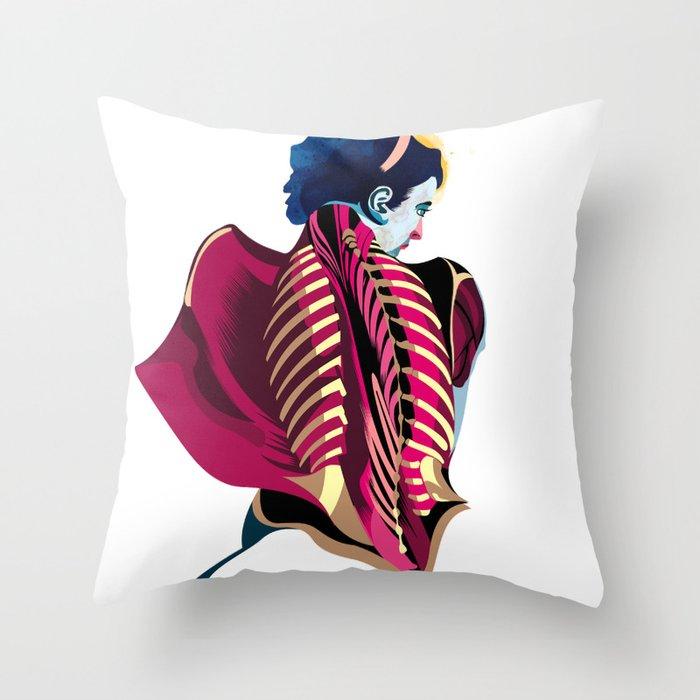 Anatomy 07a Throw Pillow