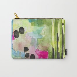 Flamingo View Carry-All Pouch