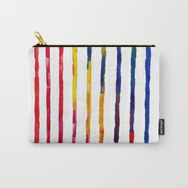 Parrot stripes Carry-All Pouch