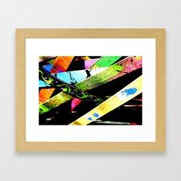 Funneled Creativity Framed Art Print