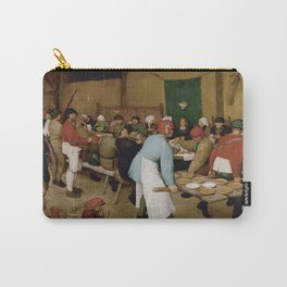 Peasant Wedding by Pieter Bruegel the Elder Carry-All Pouch