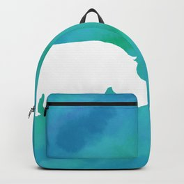hippo cutout Backpack