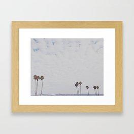 Cali Skyline Framed Art Print