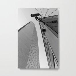 Milan   Pirelli skyscraper   Gio Ponti architect Metal Print