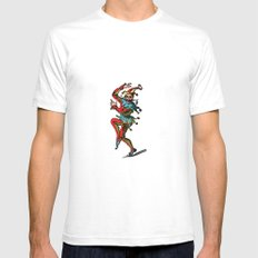 Jester2 Mens Fitted Tee White SMALL