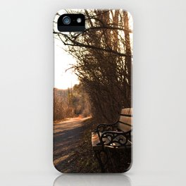 Where Someone Once Sat iPhone Case