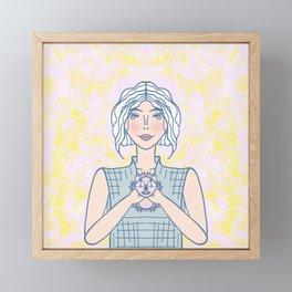 Meet Sonic Framed Mini Art Print