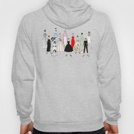 Audrey Hepburn Think Pink Outfits Fashion Hoody