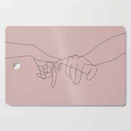 Blush Pinky Cutting Board