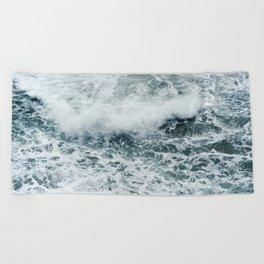 Crashing Beach Towel