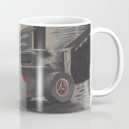 Hot Rod Batmobile  Coffee Mug