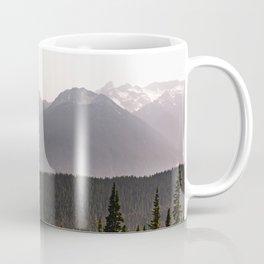 Mount Rainier Summer Adventure IX - Pacific Northwest Mountain Landscape Coffee Mug