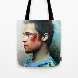 Brad Pitt 'Tyler Durden' The Fight Club Tote Bag