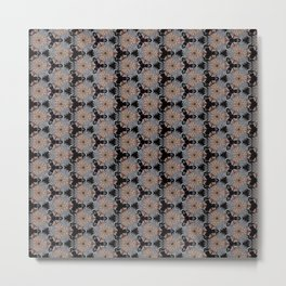 Tearaway Scrapper Pattern Metal Print