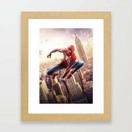 Spider-Man: Far From Home Framed Art Print