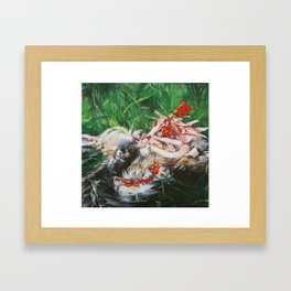 The Beautiful Devourers Framed Art Print