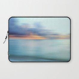 Ocean Sunrise Abstract Laptop Sleeve