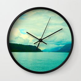 The Gorge I Wall Clock