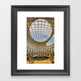 The Corn Exchange Interior Framed Art Print